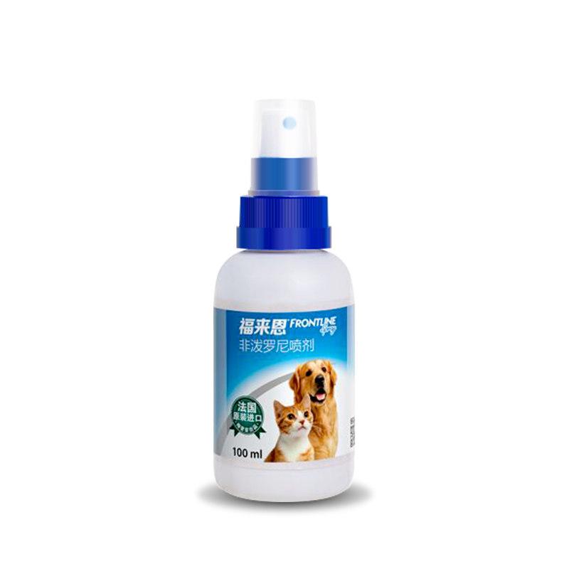 勃林格 福来恩 狗狗福莱恩滴剂 外驱虫药 喷剂 犬猫通用 100ml
