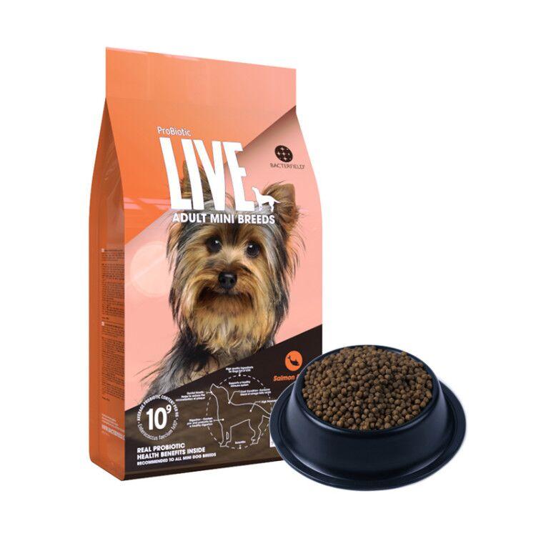 【临期2021年1月】ProBiotic LIVE 活菌粮三文鱼小型犬成犬粮7.5kg 成犬