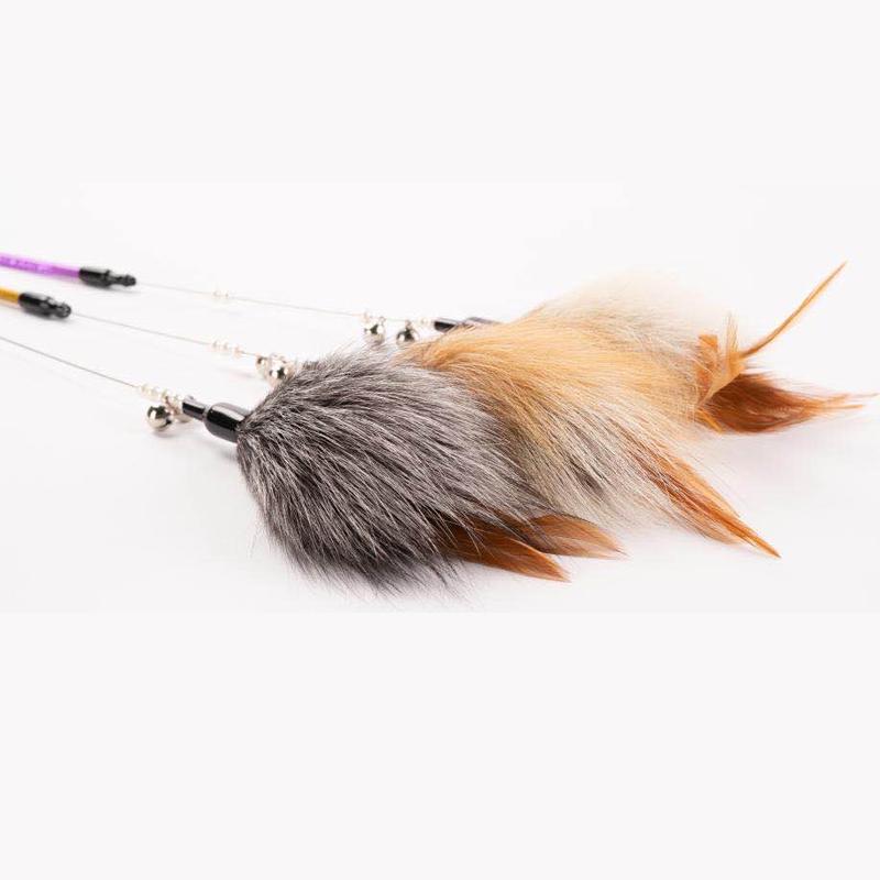 猫王-狐毛逗猫棒HM-16 1个