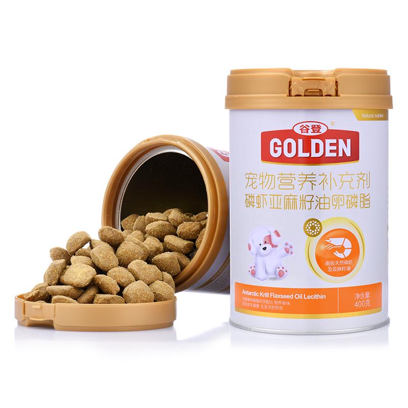 谷登 磷虾亚麻籽油卵磷脂(犬用)400g 磷虾亚麻籽油卵磷脂