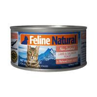 K9猫Feline Natural天然无谷猫罐-羊肉&帝王鲑 85g