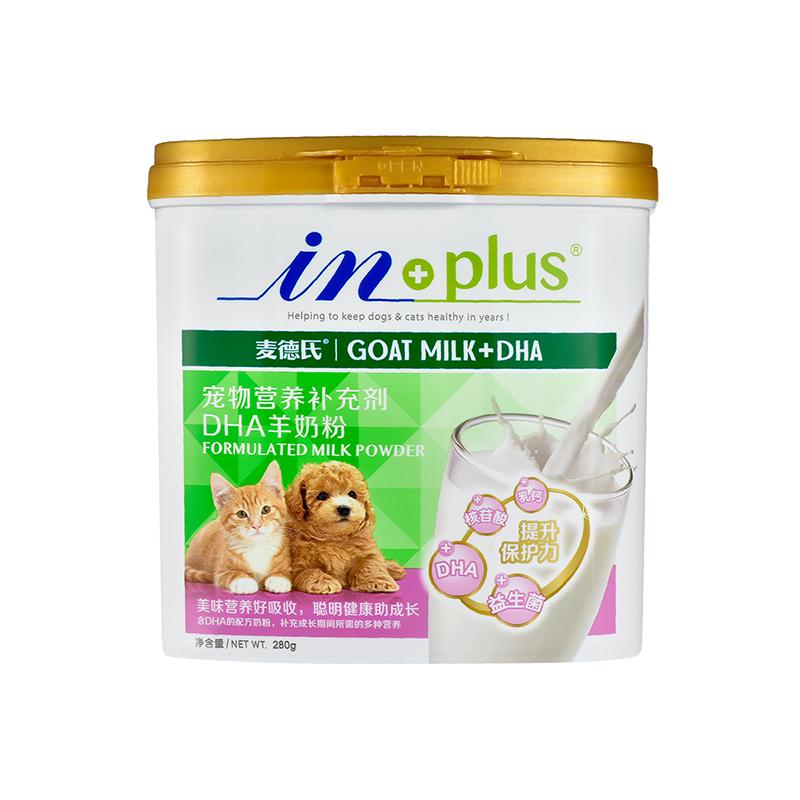 麦德氏 IN-Plus DHA猫狗通用羊奶粉280g