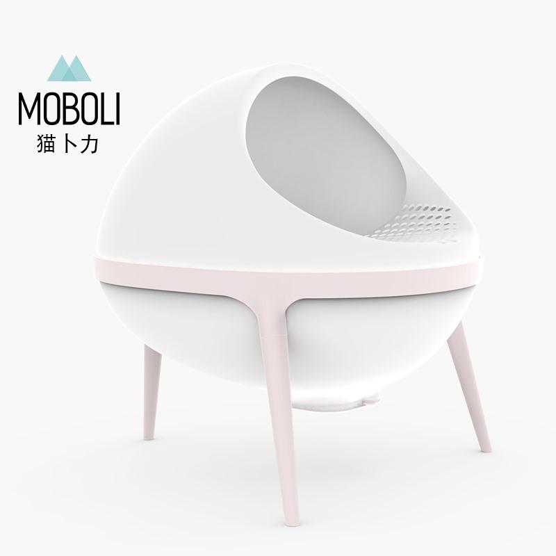 MOBOLI猫卜力行星猫厕所-粉色 1个