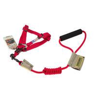 暖阳-2013YZH006-红色-M(圆牵绳+胸背) 9MM