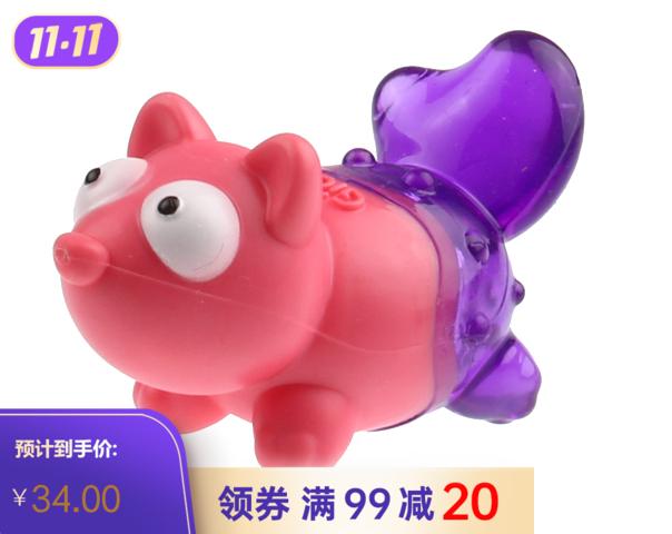 贵为Q仔狐狸玩具狗狗玩具 1个