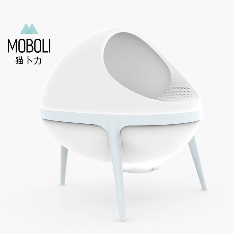 MOBOLI猫卜力行星猫厕所-蓝色 1个
