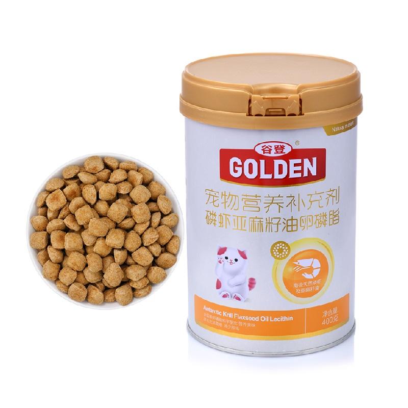 谷登 磷虾亚麻籽油卵磷脂(猫用)400g 磷虾亚麻籽油卵磷脂