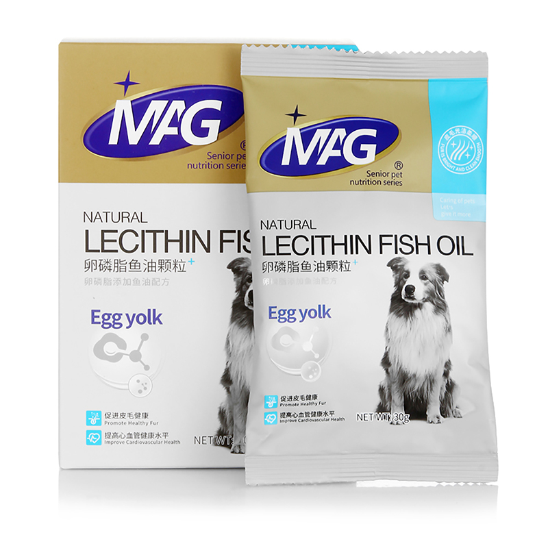 MAG卵磷脂鱼油颗粒(犬用)30g
