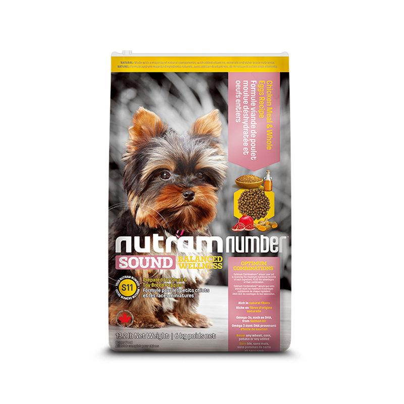 纽顿低敏S11 去骨鸡肉&全蛋-幼犬全价粮 6kg(效期至21.7.16)