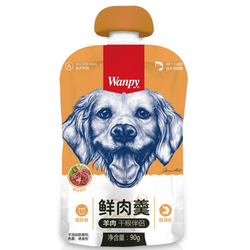 Wanpy顽皮 成犬鲜肉羹羊肉/鸡肉/牛肉配方90g 羊肉 90g