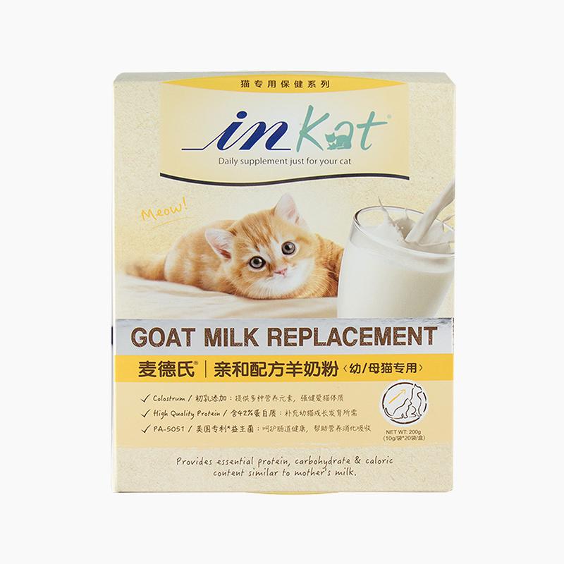 麦德氏IN-KAT亲和配方羊奶粉(幼/母猫专用)200g 200g