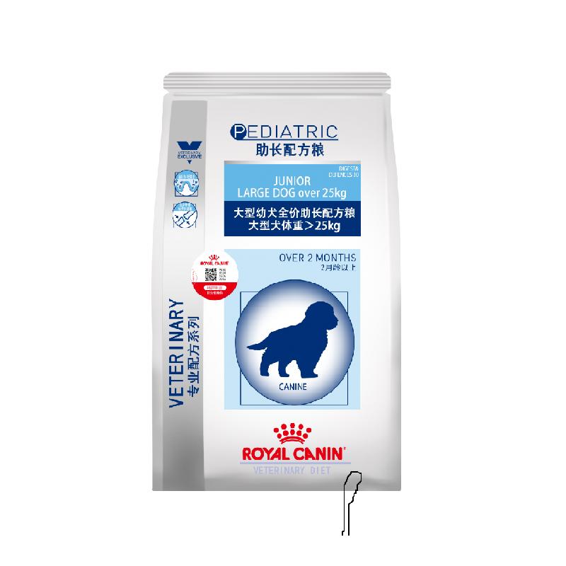 皇家大型幼犬全价助长配方粮JLD30/4KG 4kg