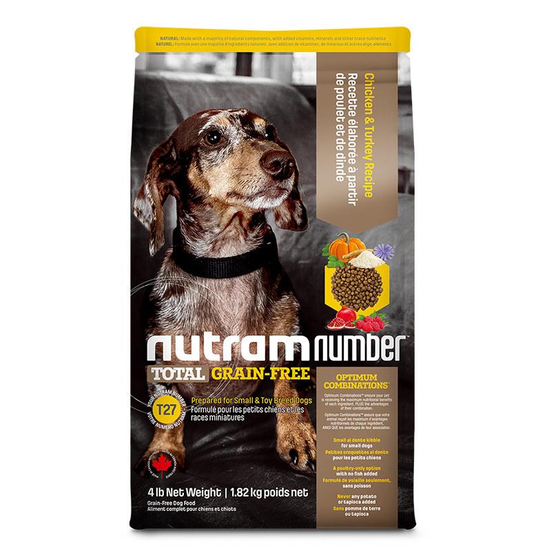 纽顿无谷T27全龄犬 去骨鸡肉&火鸡肉1.82kg