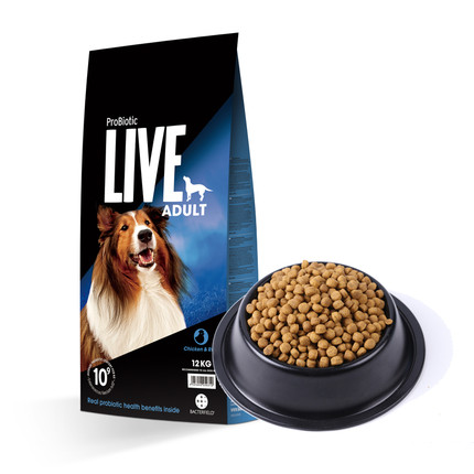【临期2021年1月】ProBiotic LIVE 活菌粮鸡肉成犬粮12kg 成犬 12kg
