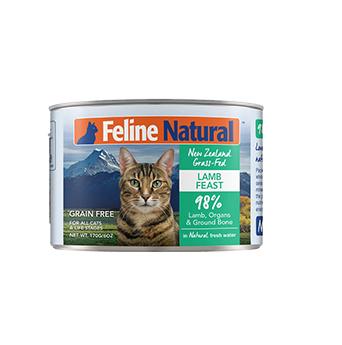 K9猫Feline Natural天然无谷猫罐-羊肉 170g