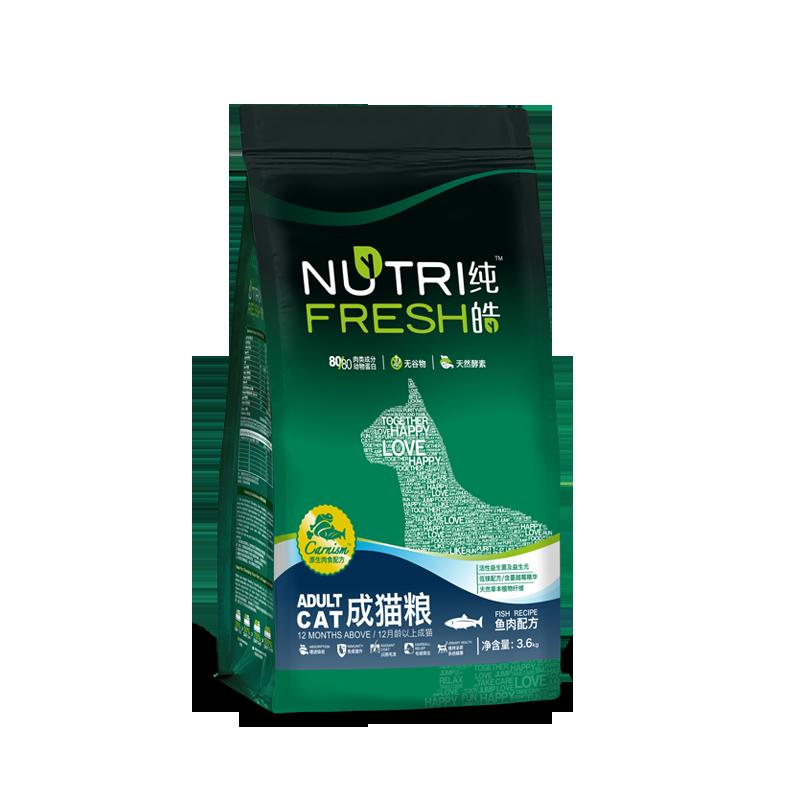 纯皓成猫天然无谷粮(鱼肉配方) 3.6kg