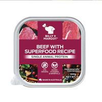 Billy+Margot比利玛格 犬用澳洲牛肉搭配超级食材餐盒 100g