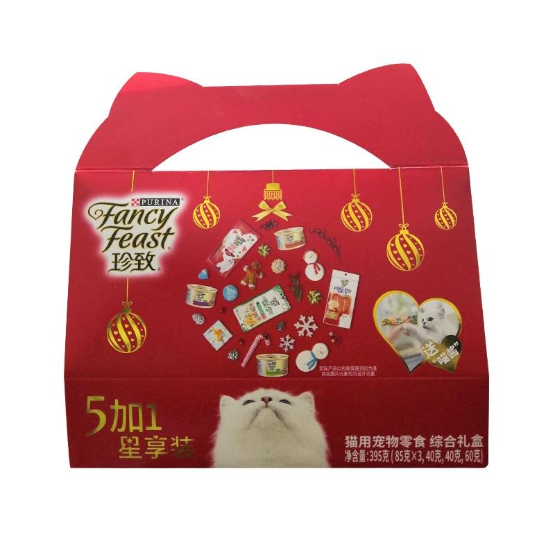 珍致5+1星享装猫零食(综合礼盒) 395g