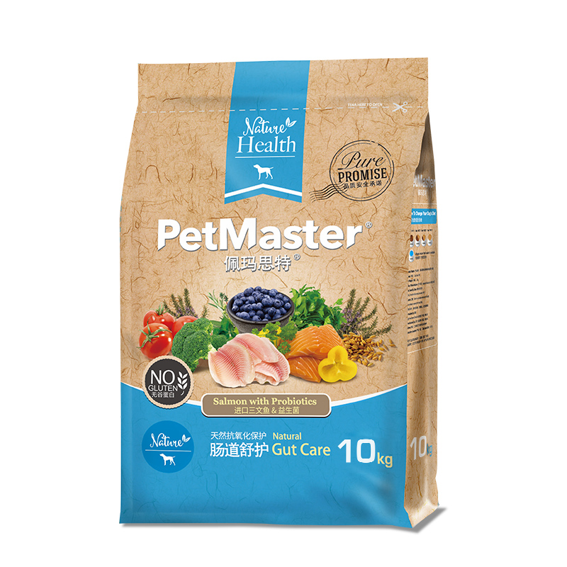 佩玛思特天然非转基因肠道舒适犬粮10kg