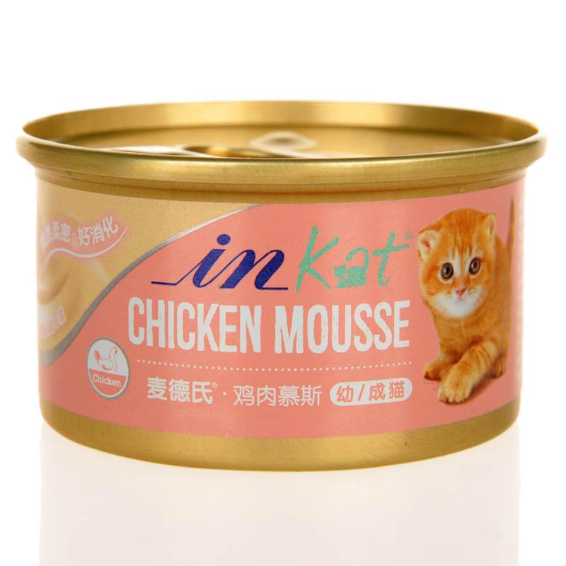 麦德氏IN-KAT (慕斯)湿粮罐头 鸡肉 80g