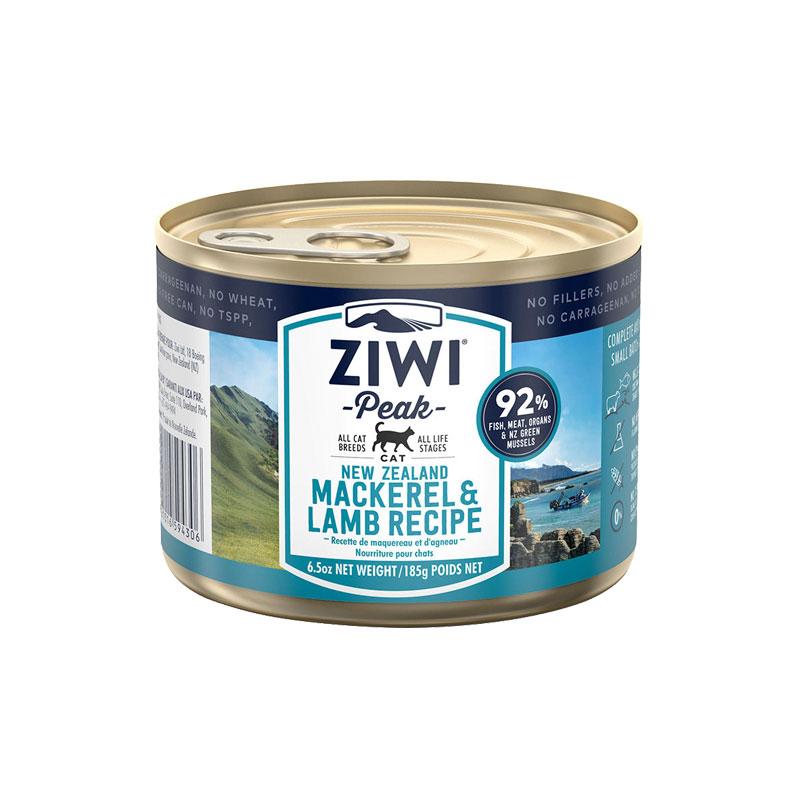 巅峰Ziwi Peak  猫罐头185g 多口味可选 马鲛鱼羊肉
