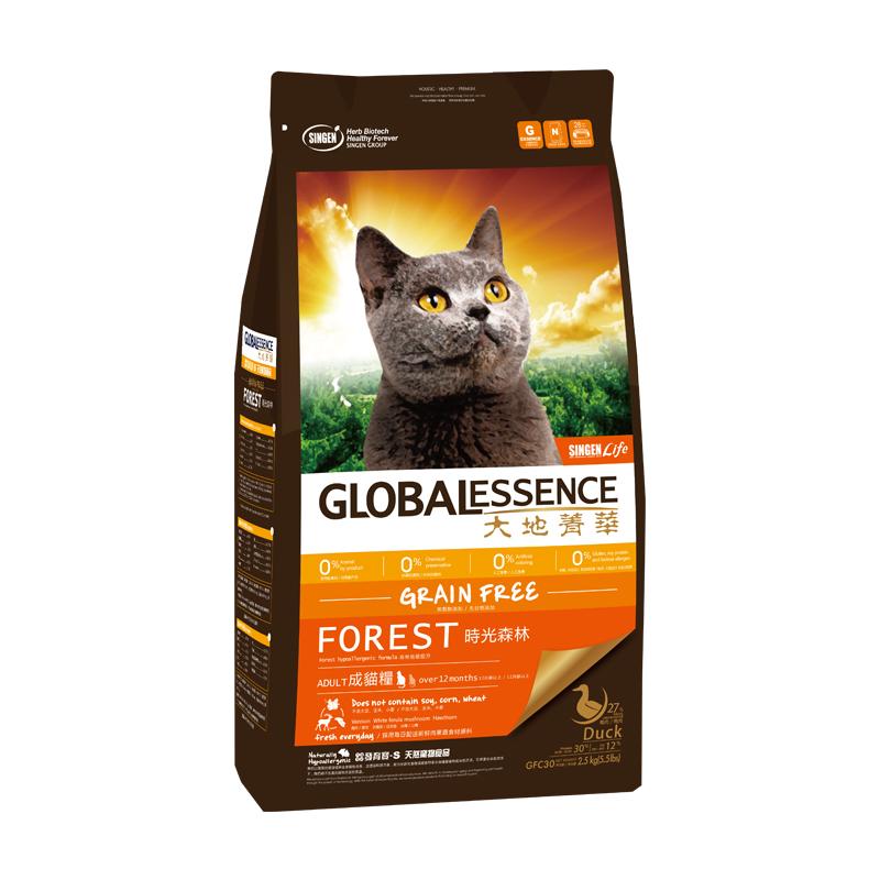 【买赠】发育宝 GFC30时光森林成猫粮2.5kg 2.5KG