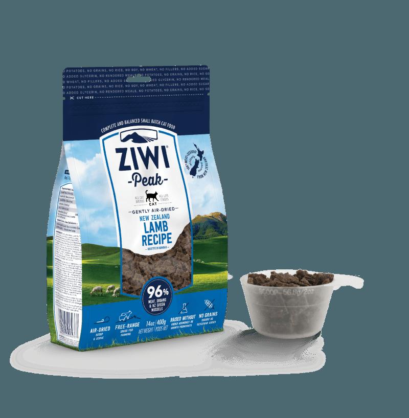 巅峰 Ziwi Peak 羊肉配方风干猫宠物食品 400g