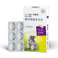 拜耳拜宠清 犬用体内驱虫药 6片/盒