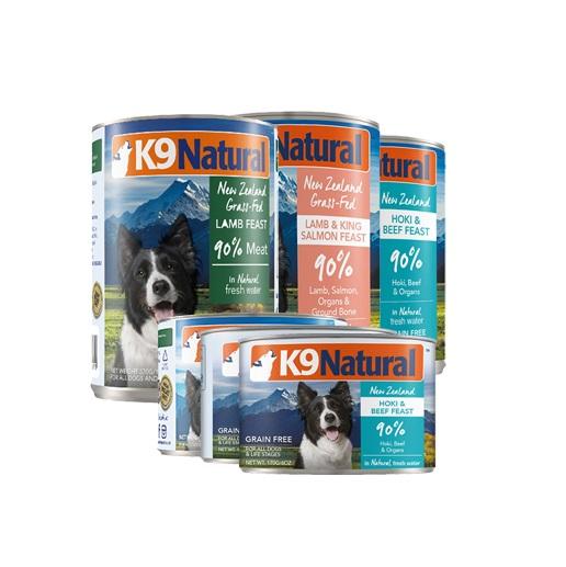 K9犬Natural天然无谷犬罐-鳕鱼&牛肉370g 370g