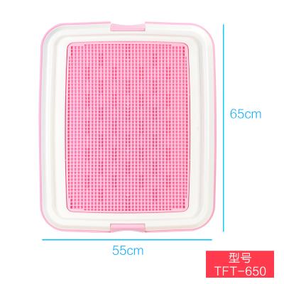 爱丽思狗厕TFT-650M粉色 1个