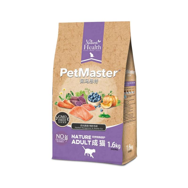 佩玛思特然非转基因成猫1.6kg 1.6kg
