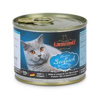 德国小李子猫罐头Leonardo无谷猫主食罐头零食 海洋鱼配方 200g/罐