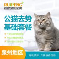 【望江店开业钜惠】公猫绝育基础套餐 <5kg
