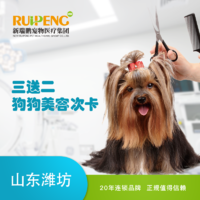 【山东潍坊】犬美容卡3送2 3-6kg