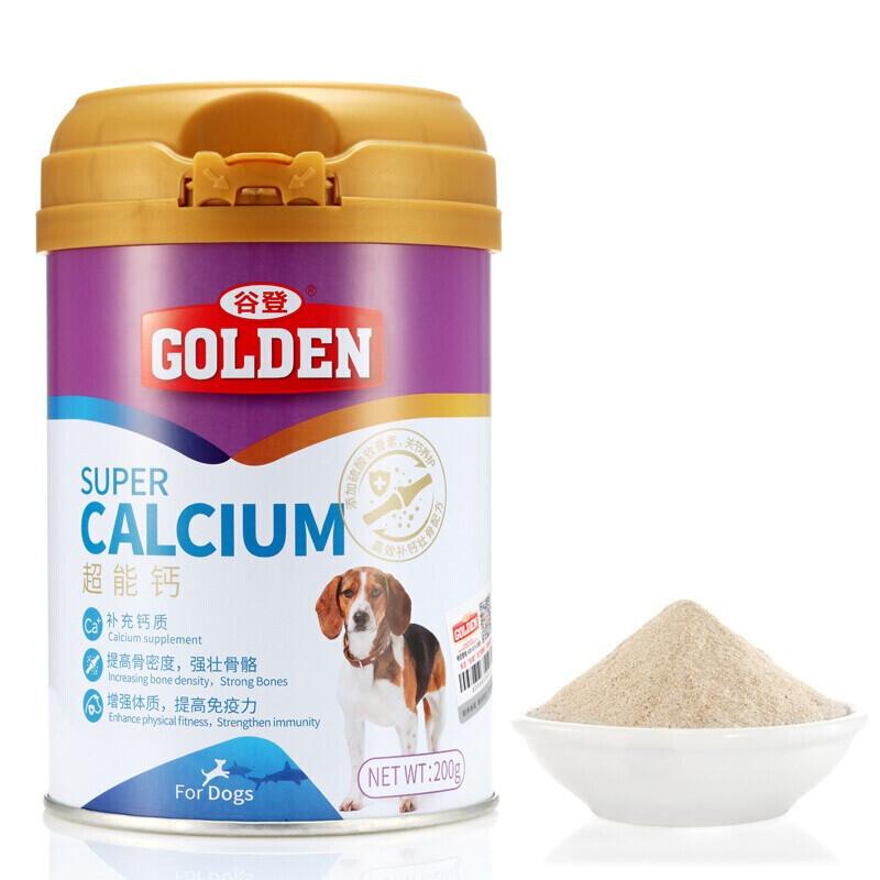 谷登犬用超能钙200g 1瓶