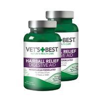 【2瓶】VetsBest绿十字 化毛猫草片 猫用 60粒/瓶