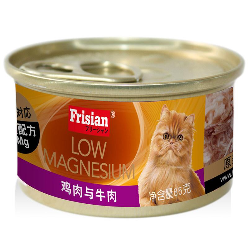 富力鲜-鸡肉与牛肉猫罐(低镁配方) 85g