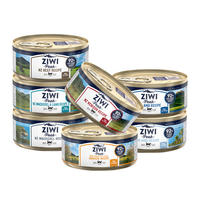 【6罐】巅峰Ziwi Peak 猫罐头 85g ——鸡肉*3,马鲛鱼*3