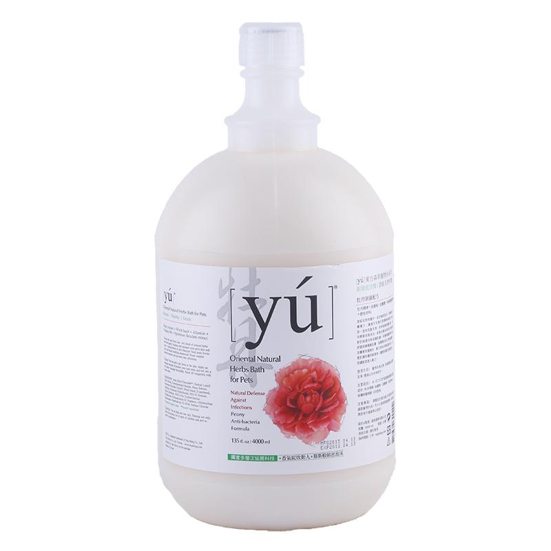 YU东方森草沐浴露-牡丹抑菌配方4L 1瓶