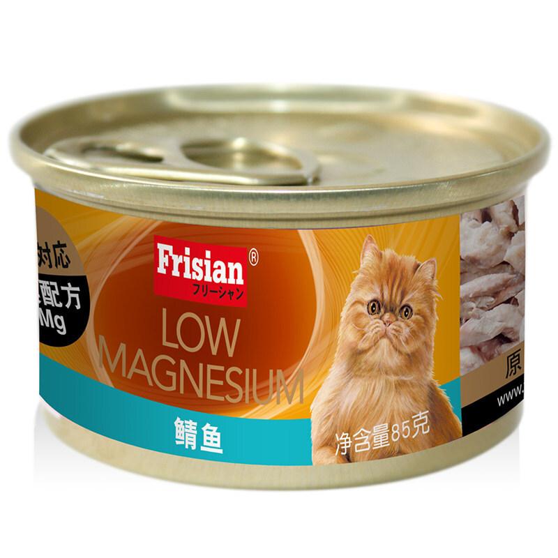 富力鲜-鲭鱼猫罐(低镁配方) 85g