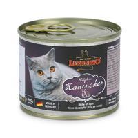 德国小李子猫罐头Leonardo莱昂纳多无谷猫主食罐头零食 兔肉配方 200g/罐