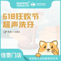 佳雯狗狗超声洗牙套餐 犬≤10KG