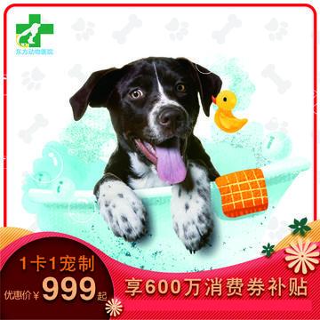 【昆明东方专享】狗狗-无限洗澡卡(精细洗浴年卡) 狗狗15-20kg
